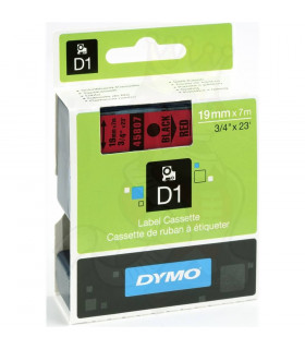 Dymo D1 S0720870 45807 19mm x 7m, Black on Red | ⓿❽❻❽❺⓿❺⓿❺❺ | Nhãn in, tem in, giấy in, băng nhãn, tape in | khuetu.vn