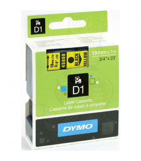 Dymo D1 S0720880 45808 19mm x 7m, Black on Yellow | ⓿❽❻❽❺⓿❺⓿❺❺ | Nhãn in, tem in, giấy in, băng nhãn, tape in | khuetu.vn