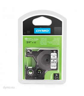 Dymo D1 S0718050 16958 Flexible Nylon 19mm x 3.5m, Black on White | ⓿❽❻❽❺⓿❺⓿❺❺ | Nhãn in, tem in, giấy in, băng nhãn, tape in...