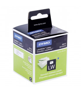 Dymo S0722370 (99010), LabelWriter Address Labels 89mm x 28mm x 260 labels - Black on White | ⓿❽❻❽❺⓿❺⓿❺❺ | Nhãn in, tem in, g...