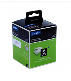 Dymo S0722400 (99012), LabelWriter Large Address Labels 89mm x 36mm x 520 labels - Black on White | ⓿❽❻❽❺⓿❺⓿❺❺ | Nhãn in, tem...