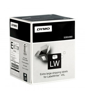 Dymo S0904980, LabelWriter XL Shipping Labels 104mm x 159mm x 220 labels - Black on White | ⓿❽❻❽❺⓿❺⓿❺❺ | Nhãn in, tem in, giấ...