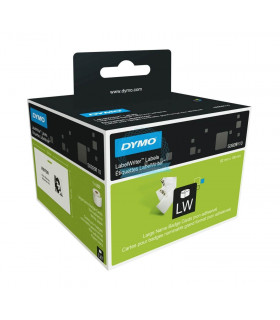 Dymo S0929110, LabelWriter Large Name Badge Cards Labels 106mm x 62mm x 250 labels - Black on White | ⓿❽❻❽❺⓿❺⓿❺❺ | Nhãn in, t...