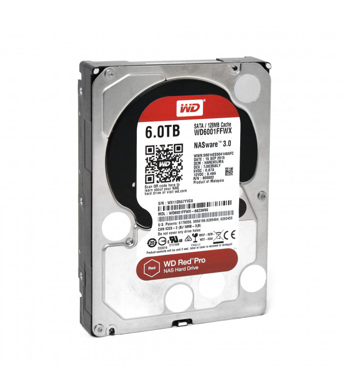 Ổ cứng chuyên dụng WD RED PRO 6TB 3.5 Inch SATA HDD 7200rpm 128MB Cache (WD6002FFWX) | WD RED PRO | WESTERN DIGITAL | khue...